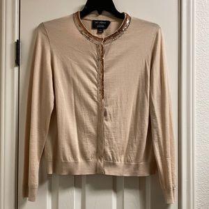 St. John Nordstrom wool silk cashmere sweater